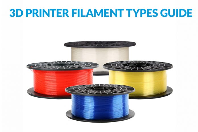 3D Printer Filament Types Guide
