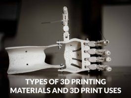 Types of 3D Printing Materials and 3D Print Uses