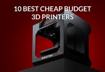10 Best Cheap Budget 3D Printers